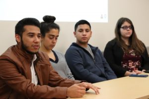 Mi Pueblo Executive Board discusses need for meeting space for Latinx community.